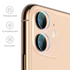 For iPhone 11 Pro Max  Metal Tempered Glass Screens Rear Camera Lens Protector