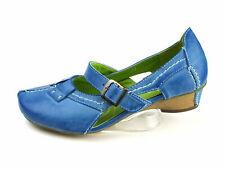 Super In Pumps Halbschuhe Sandaletten Damenschuhe blau Gr. 38 Neu17