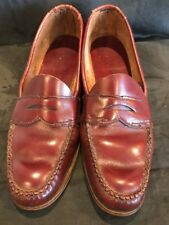 Vintage 1980's Brown GH Bass Weejuns Penny Loafers Size 7  FREE SHIPPING