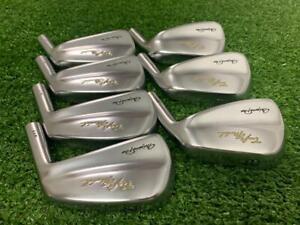 "Mizuno Pro Craft Model 911 Japan Iron set 4-PW Heads Only .355"" Golf Clubs"
