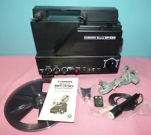 Chinon SP-330 8mm Sound Film Projector - Parts or Repair