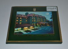 HISTORY OF THE GROVE PARK INN ASHEVILLE, NC Flat Signed BRUCE JOHNSON 1st/1st