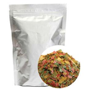 100g Pack High Quality Aquarium Fish Food Tetra Flakes for Tropical Fish Feeding
