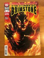 Curse of Brimstone 1 Dark Nights Metal 1st Print Vertical Foldout Cover DC NM+