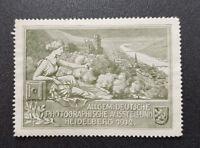 Cinderella Poster Stamp Germany Photographic Exhibition Heidelberg 1912 (7641)