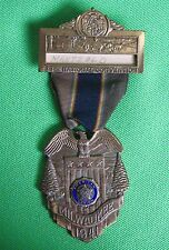 1941 American Legion 23rd National Convention Pin, Ribbon & Fob - Milwaukee WI