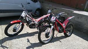 Trials bikes all makes & models Gas Gas Beta TRS Sherco Scorpa Montesa Oset Hebo