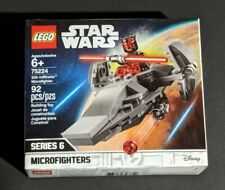 LEGO STAR WARS MICRO FIGHTERS w/ Sith Infiltrator 75224 SERIES 6 - NEW  Z57/2