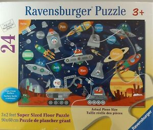 Ravensburger Space Aliens  24 Jumbo Piece Jigsaw Floor Puzzle for Kids 3x2 feet