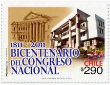 Chile 2011 #2456 200 años COngreso Nacionall MNH