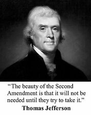 Thomas Jefferson Quote  11 x 14  Photo Picture Poster #bws1