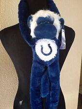 NWT Colts Football Plush Monkey NFL Forever Collectibles