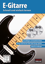 E-Gitarre - Schnell und einfach lernen (mit CD und DVD)