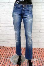 CYCLE Jeans Donna Taglia Size 29 Pants Woman Pantalone Corto Blu PARI AL NUOVO 3