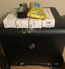 DELL 1320c Colour Laser Network Printer with 6 Spare Toners (+4 Installed)