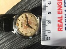 Vintage gents 50's Movado Automatic Watch cool patina