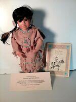 Many Stars Doll ~ Native American COA, Booklet etc