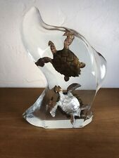 KITTY CANTRELL SEA TURTLE SCULPTURE LUCITE SCULPTURE EDITION OF 1250