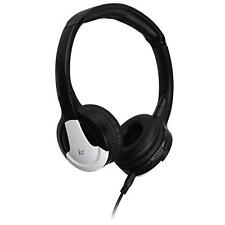 KitSound Wireless Bluetooth Headphones With Mic Compatible Smartphones White