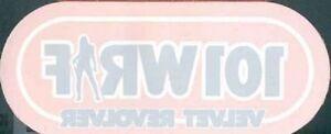 """Velvet Revolver - WRIF 101 FM Detroit """"cling"""" STICKER"""