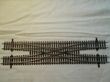 HO Scale Shinohara DOUBLE Crossover Nickel Track