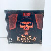 Diablo II 2 PC 2000 3 Disc Set & Jewel Case Tested