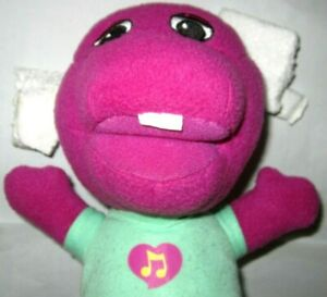 Vintage Singing Baby Barney The Dinosaur