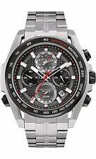 Bulova Men's 98B270 Precisionist UHF Quartz Chronograph Black Dial 48.5mm Watch