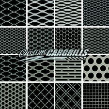 """CCG UNIVERSAL GRILL MESH BIG SAMPLE PACK - 3"""" x 3"""" - 16 PIECE - SILVER"""
