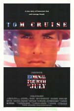 BORN ON THE 4TH OF JULY + MI2 MOVIE POSTER TOM CRUISE