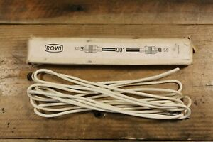 Vintage Rowi 901 Flash Extension Cable 10FT Made in Germany