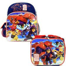 Disney Big Hero 6 Sling Shoulder Bag Drawstring Backpack - Black