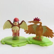 Pidgeot & Fearow Original CGTSJ Nintendo Pokemon Mini Figures Toy vtg 2 Bandai