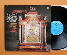 Haydn Symphony no. 85 & 101 Joseph Keilberth Telefunken 6.42089 AG Stereo NM/VG