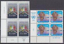UNO Genf 1987 ** Mi.152/53 Freimarken Definitives [sr2150]
