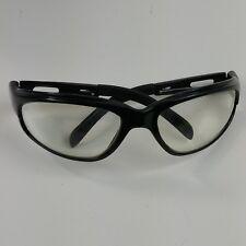 Wolverine Z87.1 Sports Protective Safety Eye Wear Glasses Black Frame #14