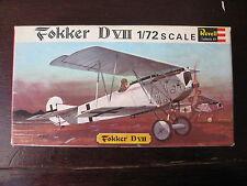 MAQUETTE 1/72 REVELL BOITE VINTAGE 1963  FOKKER D VII  WWI MILITAIRE