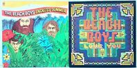 The Beach Boys Love You + Endless Summer LP Vinyl Record Album Lot of 2