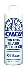 Stained Glass Supplies - CUTTER OIL-8oz-(Free Shipping)