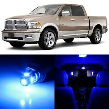 10 x Ultra BLUE Interior LED Lights Package For 2002 - 2010 Dodge Ram 1500 2500