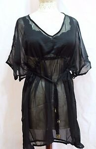 Mud Pie Sheer Butterfly Tunic Swimsuit Cover-Up, Sizes L/XL S/M NWT Colors New