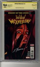All-New Wolverine # 13  - CBCS 9.6 WHITE Pgs SS Scott Hanna - Enemy of the State