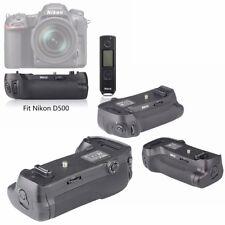 Battery Hand Grip for Nikon D500 Digital Camera Photo Remote / EN-EL15 MB-D17