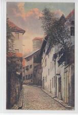 AK Meißen, Leinenwebergasse, 1920