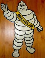Michelin Sign Bibendum Tyre Man Large Vintage Style Avertising Sign 35cm Cast