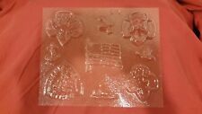 Girl Scout theme Candy mold, 9 shapes
