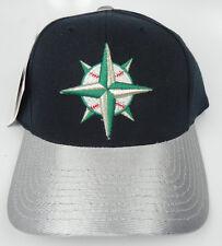 SEATTLE MARINERS MLB VTG SNAPBACK RETRO THROWBACK CAP HAT NWT LOGO ATHLETIC