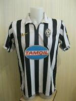 Juventus 2006/2007 home Sz L Nike football shirt jersey mailot soccer Nedved era