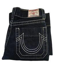 True Religion Women Jeans Size 26 Woodstock Color Dark Blue