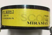 New 2004 35mm Trailer Movie Spy Kids 2  2:02 Trailer #1 Collectible